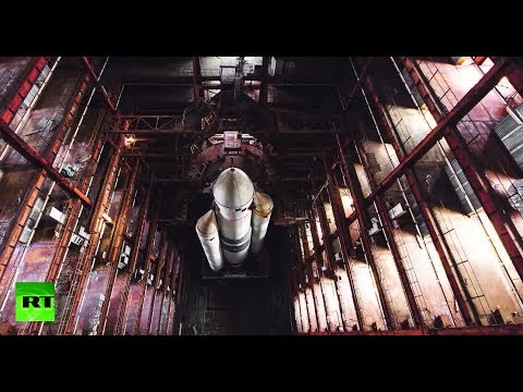 Adventurers sneak into old Cosmodrome hangar to make stunning discovery of space shuttle remains