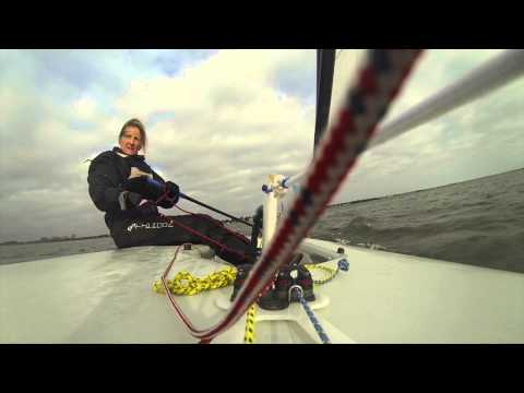 Lisa Cam Windward & Leeward Mark Roundings - Rusty Rudders 25.01.15