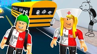 ROBLOX - ESCAPE DO DIÁRIO DE UM BANANA (DITCH SCHOOL TO GET RICH)