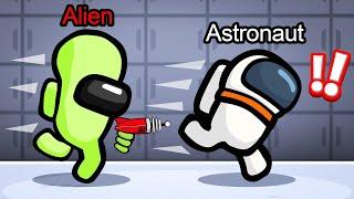 ALIENS vs. ASTRONAUTS In AMONG US!