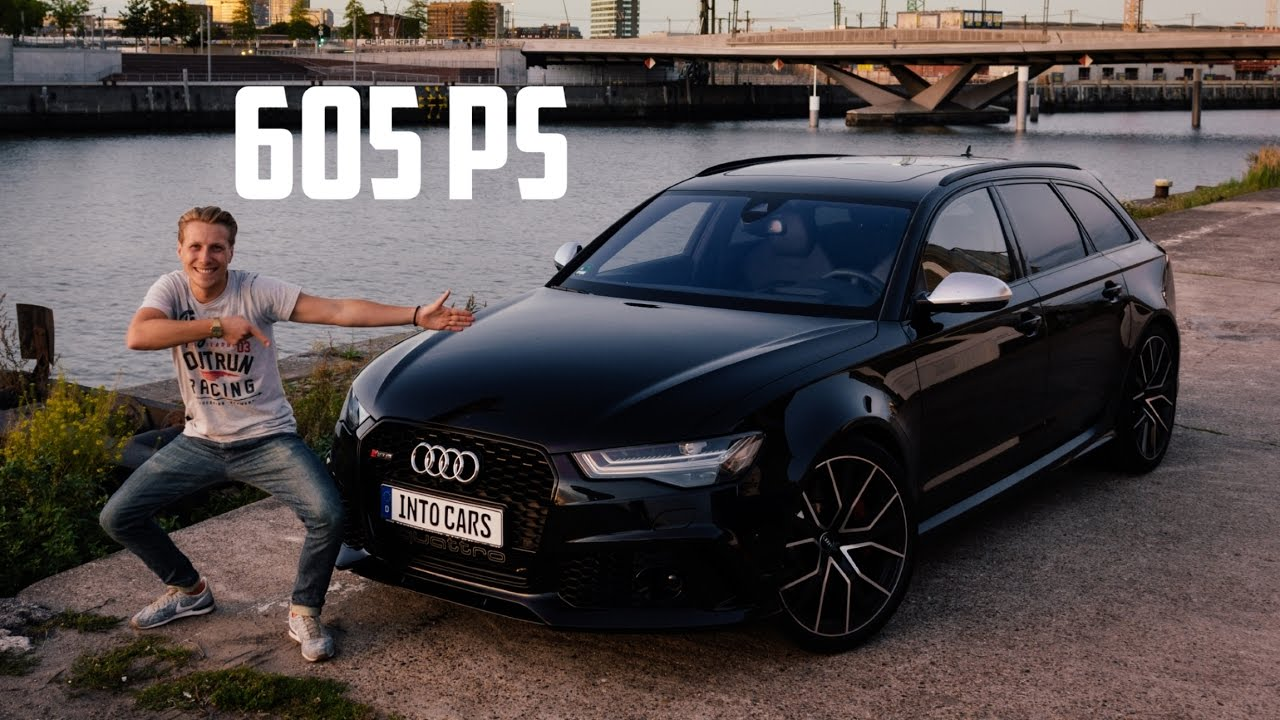 Will It Drift Audi Rs6 Performance 605 Hp Jazzy Into Cars