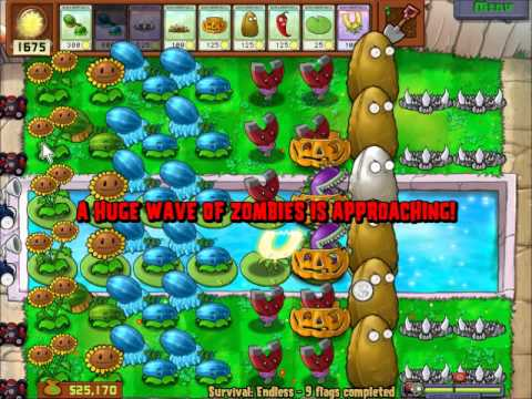 Plants vs Zombies: Survival Endless