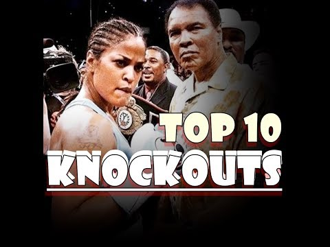 Laila Ali Top 10 Knockouts