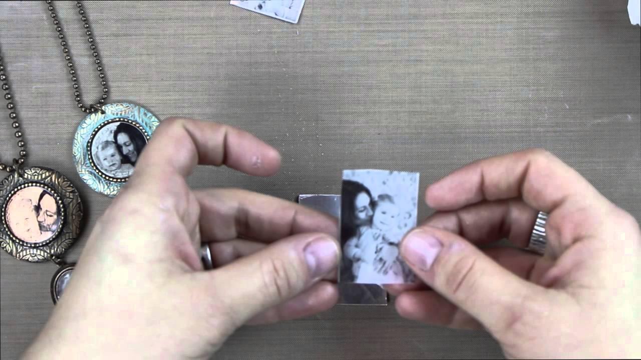 Vintaj Bezel Framelits: Image Transfer with Arte Foil
