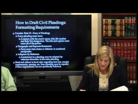 A Paralegal S Guide To Pleadings Motions Discovery Requests And
