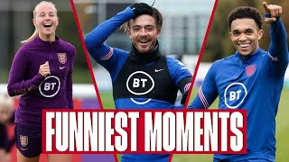 Nutmegs, Bloopers & Fails 🤣 | Funniest Moments From Inside Access In 2020 | England