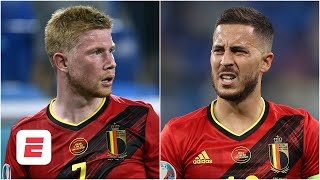 Can Belgium beat Italy WITHOUT Kevin De Bruyne Eden Hazard Euro 2020 ESPN FC