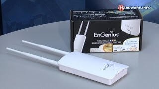 Engenius ENS202EXT EzHotspot review - Hardware.Info TV (Dutch)