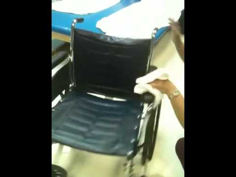 How to clean a wheelchair