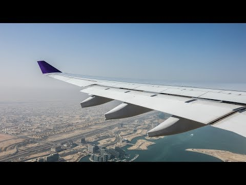 Etihad Airways A330 Abu Dhabi to Frankfurt full flight (Visit Abu Dhabi Special livery)