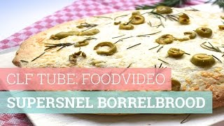 CLF TUBE: FOODVIDEO - Supersnel borrelbrood