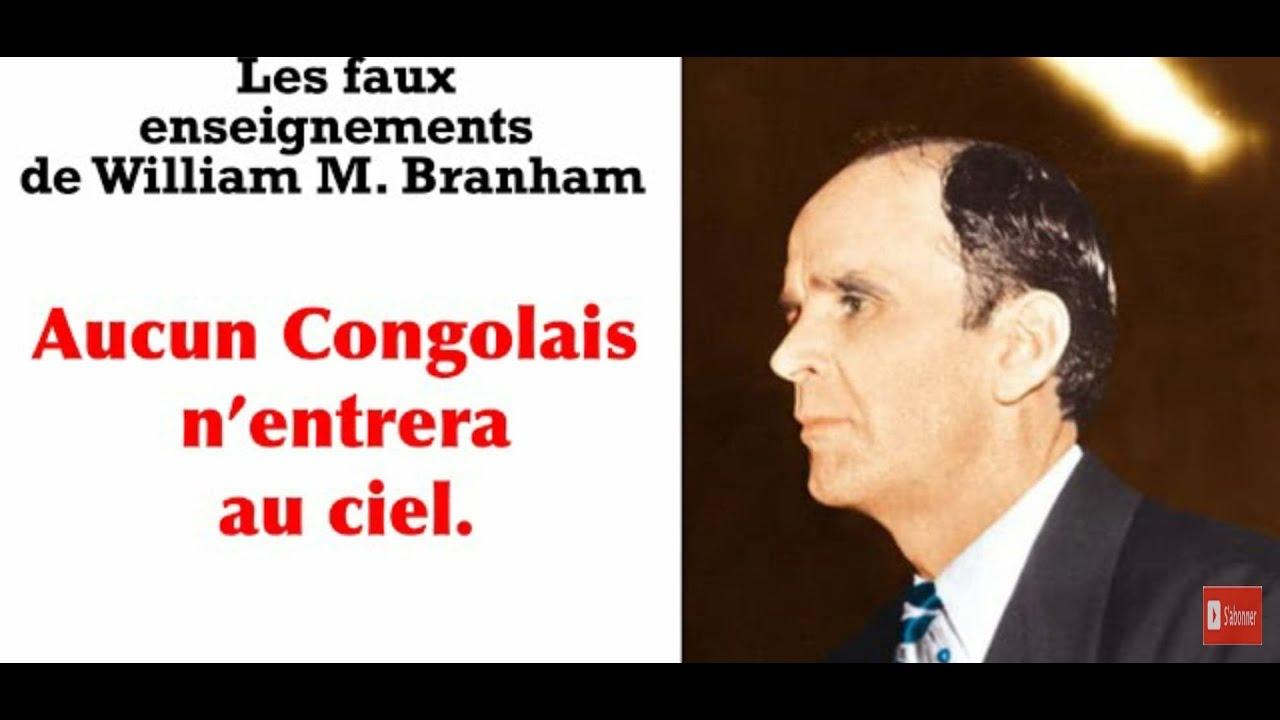 Fr Armando. Les faux enseignements de W  Branham. Pasteur Baruti, Lifoko du Ciel  MESSAGE DOUTEUX
