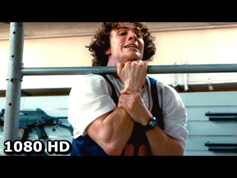 Пипец тренируется и дерётся с Убивашкой | Смешной момент из Пипца 2 (2013)