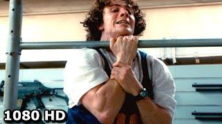 Пипец тренируется и дерётся с Убивашкой   Смешной момент из Пипца 2 (2013)