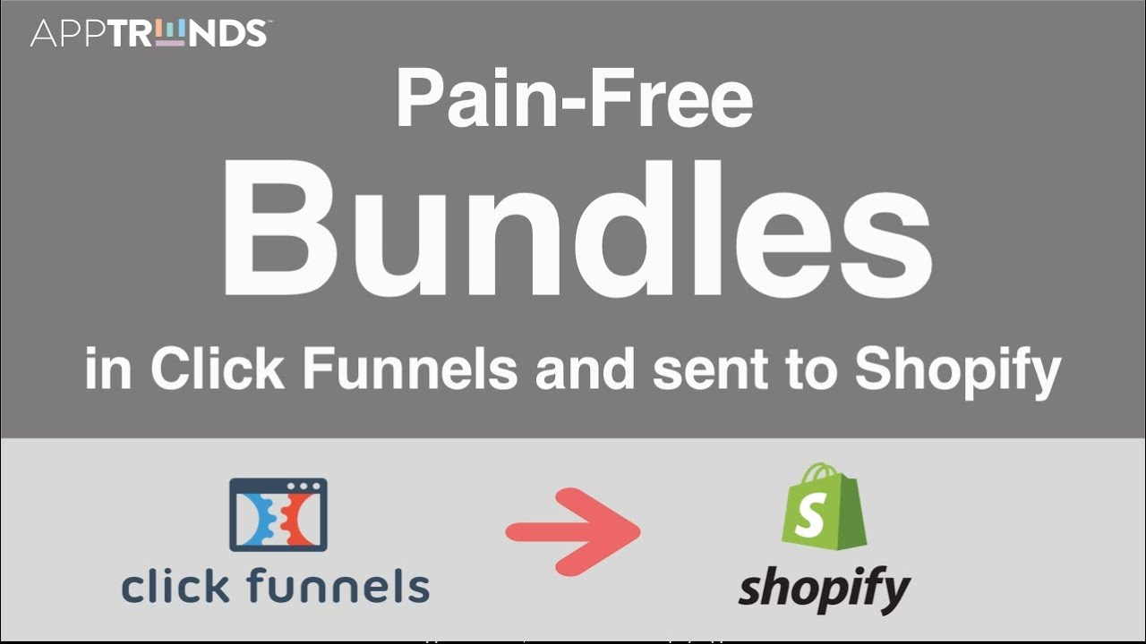 Product Bundles in Clickfunnels and into Shopify?