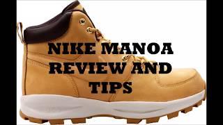 Con qué frecuencia Hipócrita reputación  Winter shoes Nike Manoa Review - DRAKE WORE THESE SHOES??? - YouTube