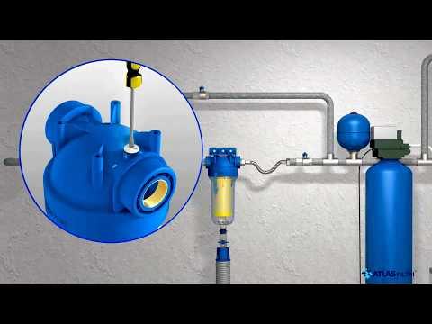 Установка, эксплуатация, модели самоочищающихся фильтров HYDRA  Atlas Filtri