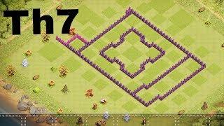 Beste Rathaus Level 7 Base 2019/Clash of Clans Th 7 Base Layout