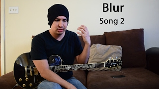 Blur Song 2 guitar lesson