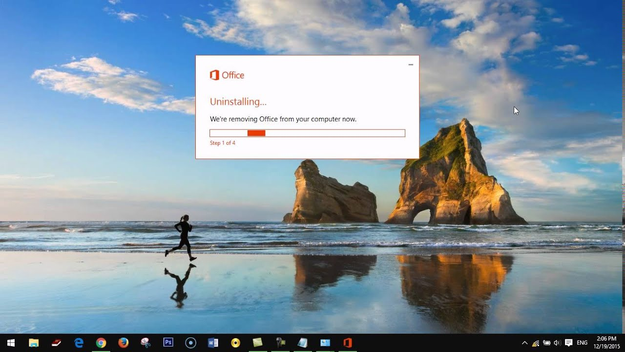 uninstall office 2016 in windows 10 with fix tool