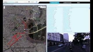 video street view 360 virtual drive through ho chi minh city