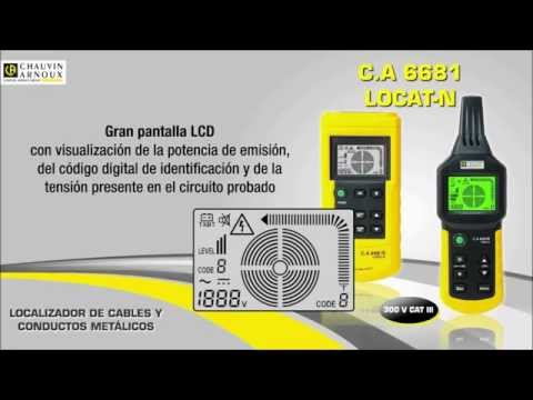 Detector de cabos LOCAT-N