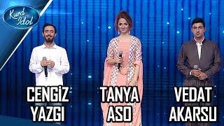 Kurd Idol - Vedat Akarsu& Tanya Aso & Cengiz Yazgi -Ez Xelef im /فیدات ئەکارسو&تانیا ئاسۆ&جەنگیز