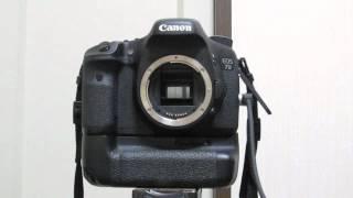 EOS 7Dシャッター音 Canon EOS 7D Shutter Sound