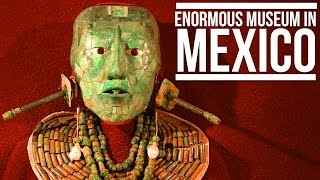 ENORMOUS MUSEUM IN MEXICO (NATIONAL MUSEUM OF ANTHROPOLOGY)| Eileen Aldis