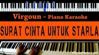Virgoun - Surat Cinta Untuk Starla - Piano Karaoke / Cover - Indonesian Song Mp3