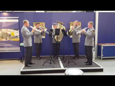 Blue - (Mnozil Brass) Musikmesse Frankfurt 2016 - Blechbläserquintett der Bundeswehr