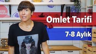 🍳Bebekler İçin Omlet Tarifi | Yaz Kahvaltısı Tarifi #2 (8 Ay +)