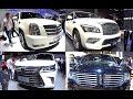 TOP 5 Premium SUVs full of luxury: Navigator, Escalade, Lexus LX570, Land Cruiser 200, Infiniti QX80