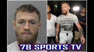 CONOR MCGREGOR CAUGHT PUNCHING OLD MAN REACTION