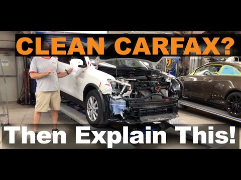 "Clean Carfax? You Won't Believe The Hidden Damage We Find On This ""No Accident Reported"" Vehicle."