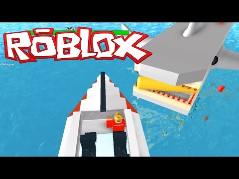 Ethan plays Roblox: Jaws 2015 | KID GAMING