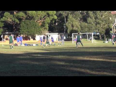 Trinity Grammar School 9a's Football v St Aloysius complete (30.7.16)