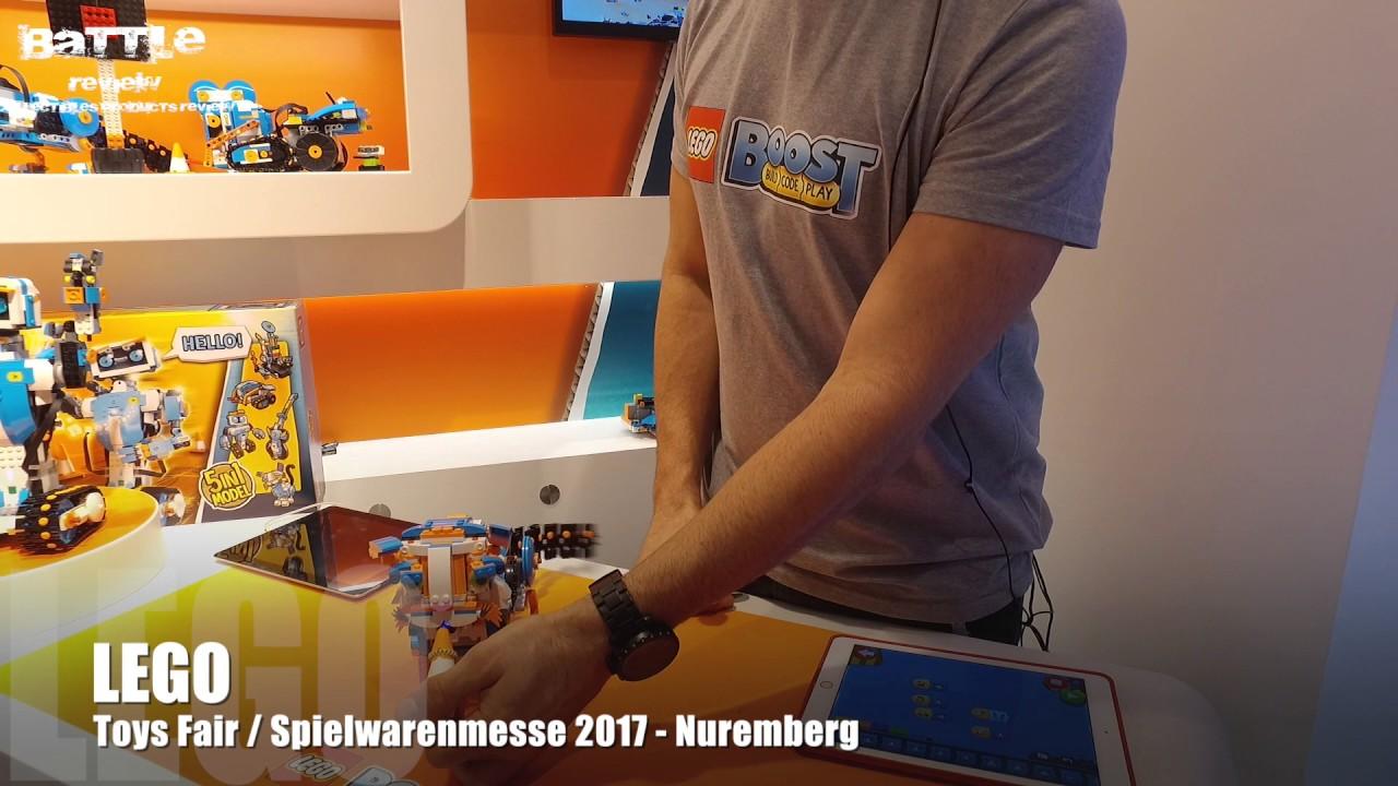 lego toy fair spielwarenmesse 2017 nuremberg youtube. Black Bedroom Furniture Sets. Home Design Ideas