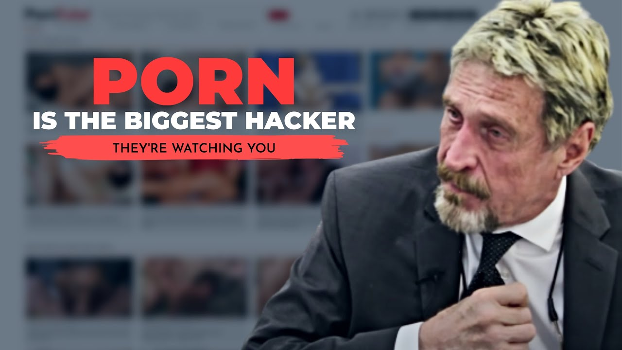 """John McAfee: """"You are immediately infected with KEYSTROKE LOGGING SOFTWARE"""""""