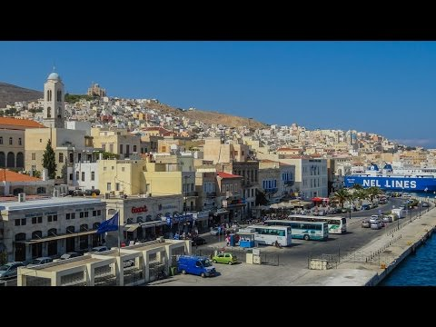 Hermoupolis Syros Cyclades Greece