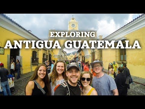 Exploring Antigua Guatemala | The Journey