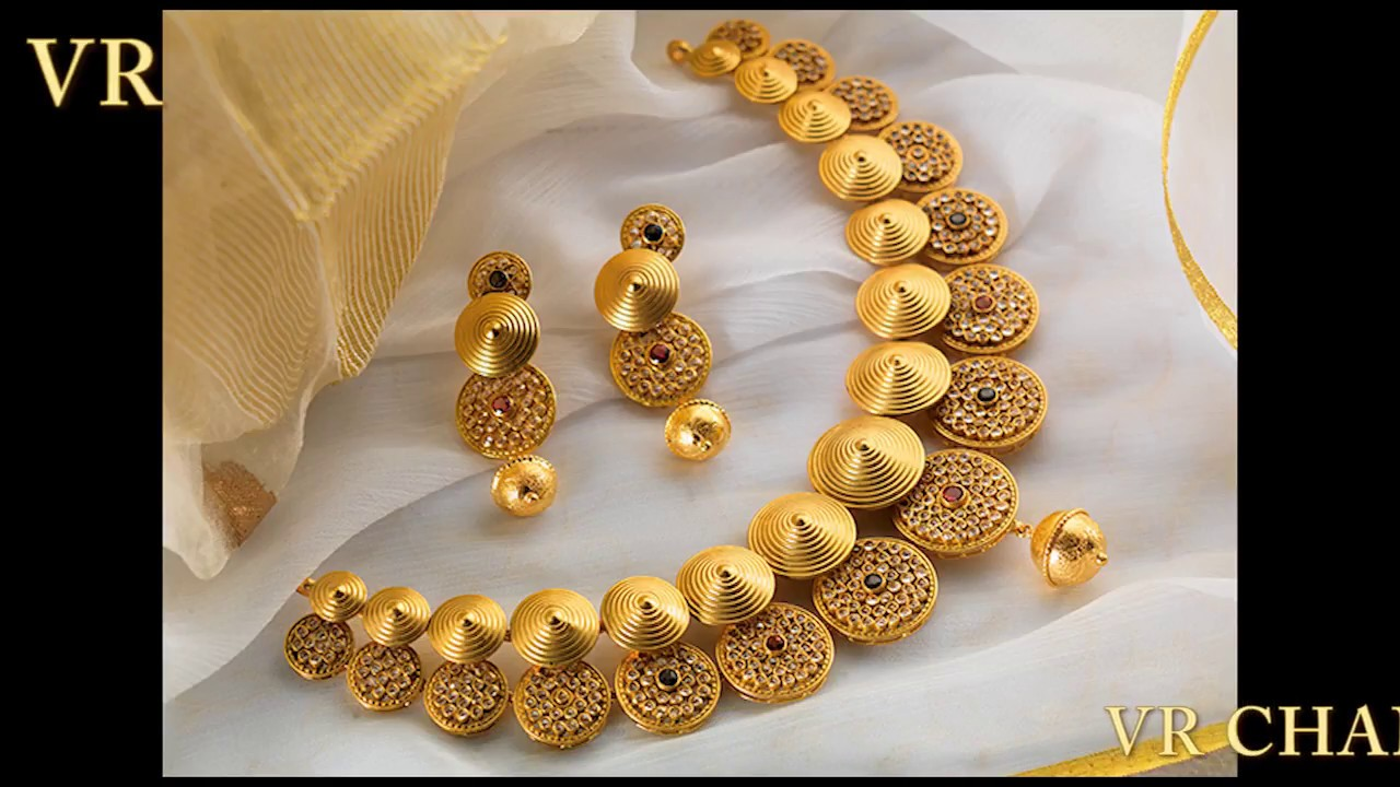 Most Beautiful Modern Gold Necklace Designs For Women Latest