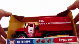 Обзор игрушечной Пожарной машины для детей фирмы Play Smart.