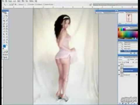 chinh anh trong Photoshop.flv