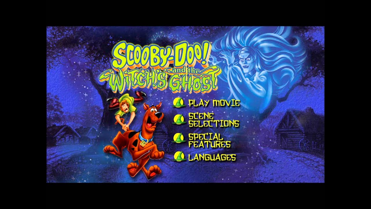 Scooby Doo The Witch S Ghost Uk Dvd Menu Youtube
