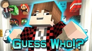 Minecraft: #MEROME Guess Who 2.0! Mini-Game w/Mitch & Jerome!