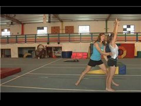 Gymnastics Moves : How to Do a Backflip