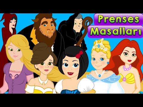 7 Prenses Masalı  | Çizgi Film | Adisebaba Masal Dinle