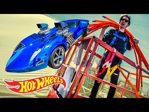 WE MESS UP A LOT...CAR JUMP BLOOPERS! | Hot Wheels Unlimited | Hot Wheels