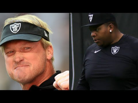 Las Vegas Raiders Discussion About Trent Brown And Jon Gruden By Joseph Armendariz